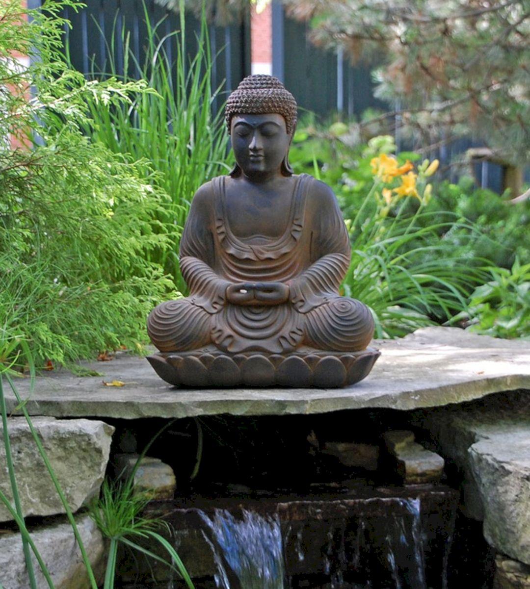 Home Gallery Design Ideas: Meditating Buddha Garden Statues (Meditating Buddha Garden