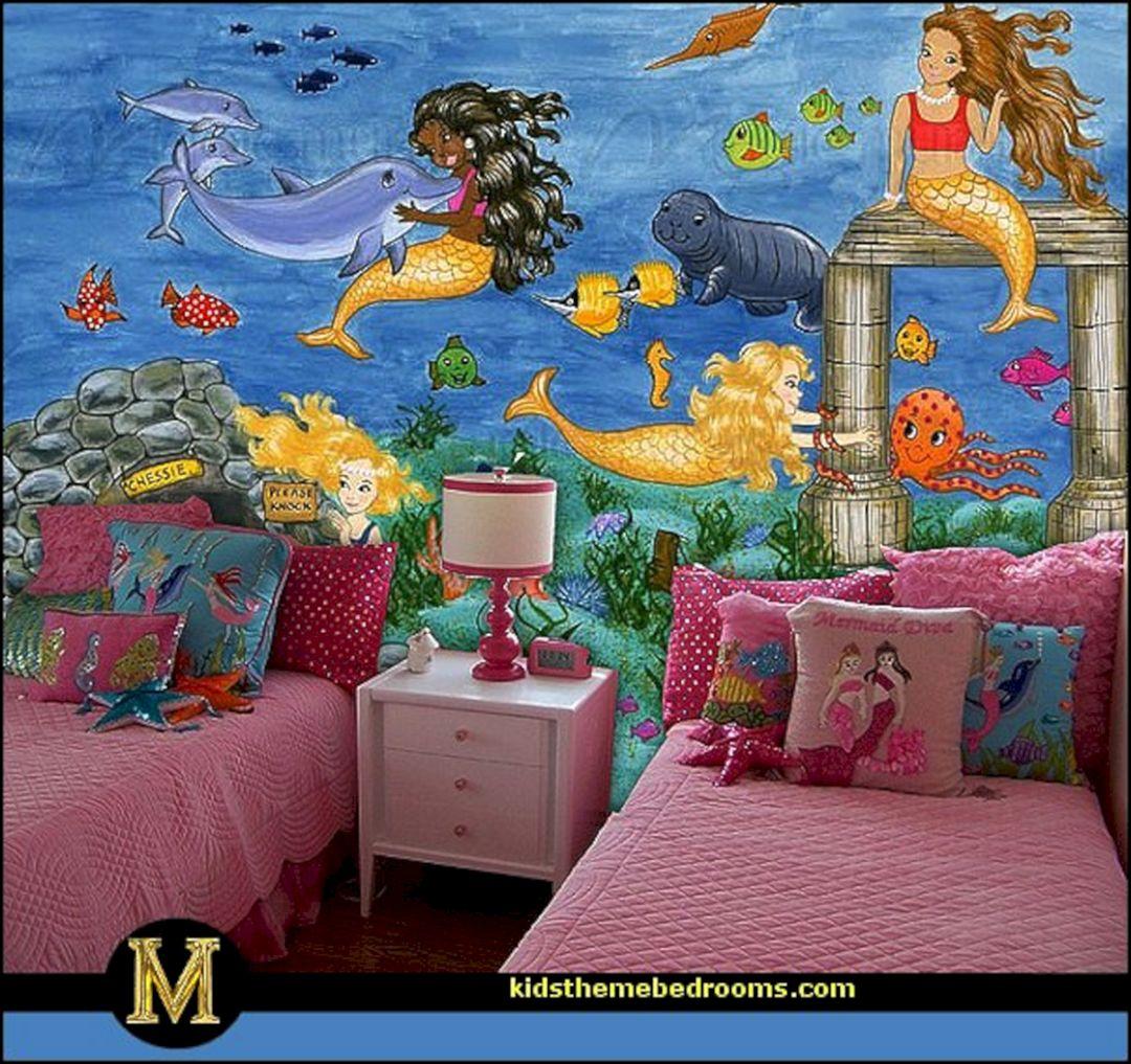 Mermaid Theme Bedrooms Decorating (Mermaid Theme Bedrooms ...