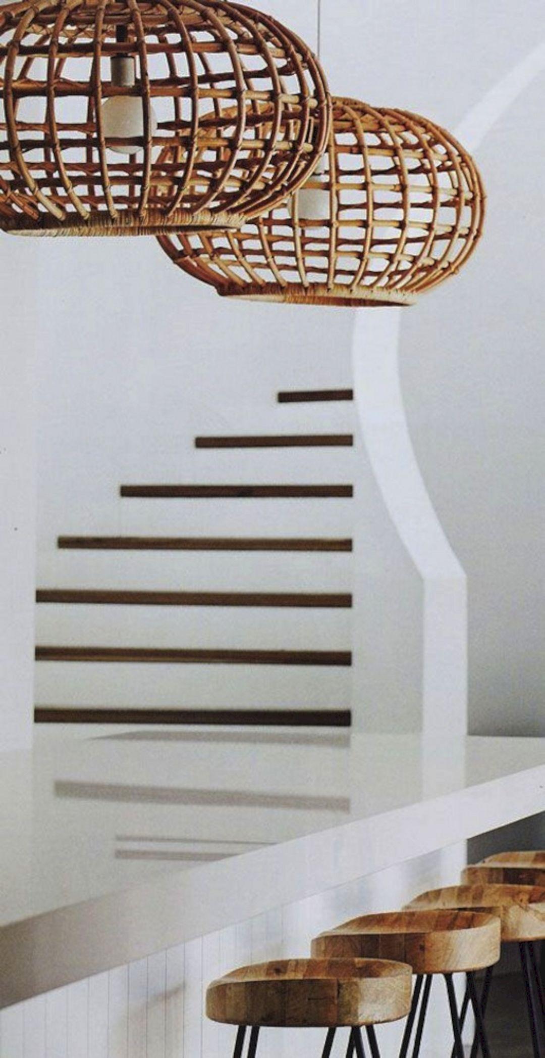 Woven Basket Lamp : Wicker basket lamp shades