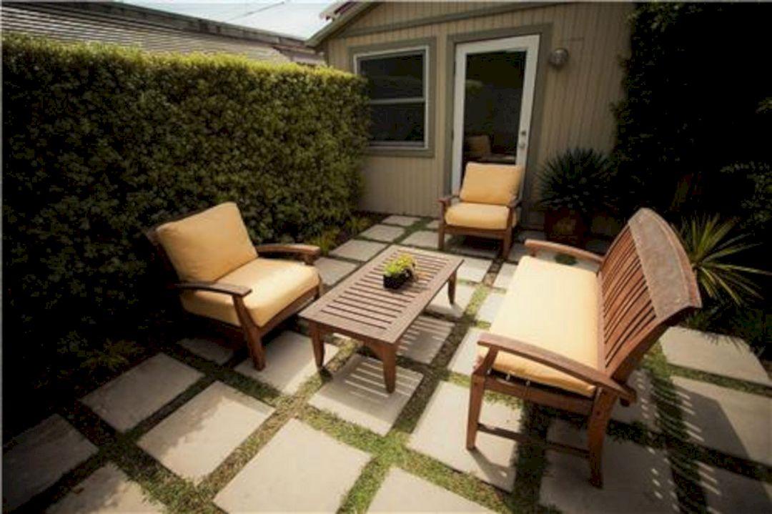 Back Yard Concrete Patio Ideas Small Yard (Back Yard ... on Small Yard Patio Ideas id=45127