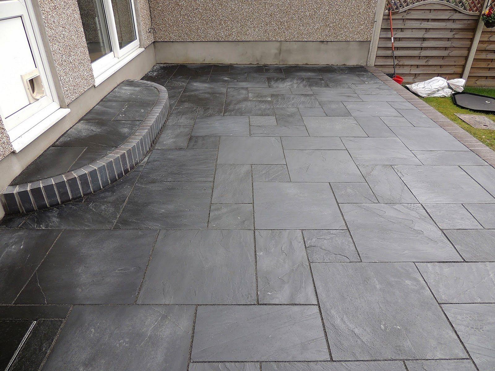 Black Slate Tile Outdoor Patios (Black Slate Tile Outdoor ...