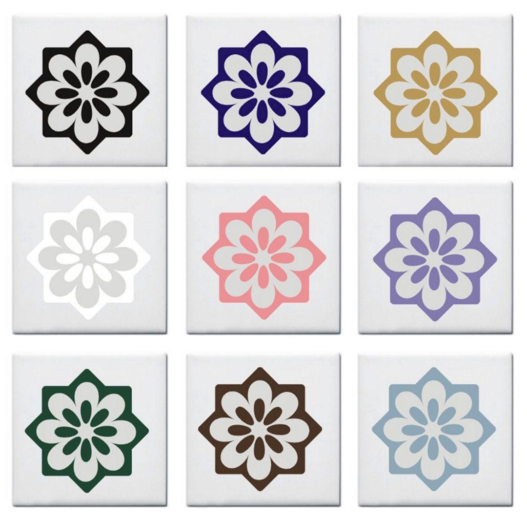 Ceramic kitchen tile stickers ceramic kitchen tile for Kitchen tile decals