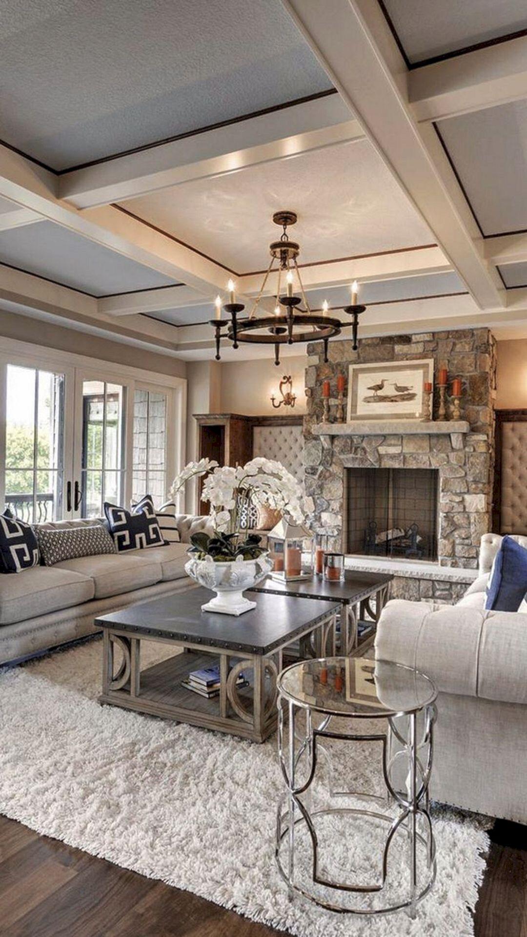 Chic Living Room Decorating Ideas And Design 44 Freshouz