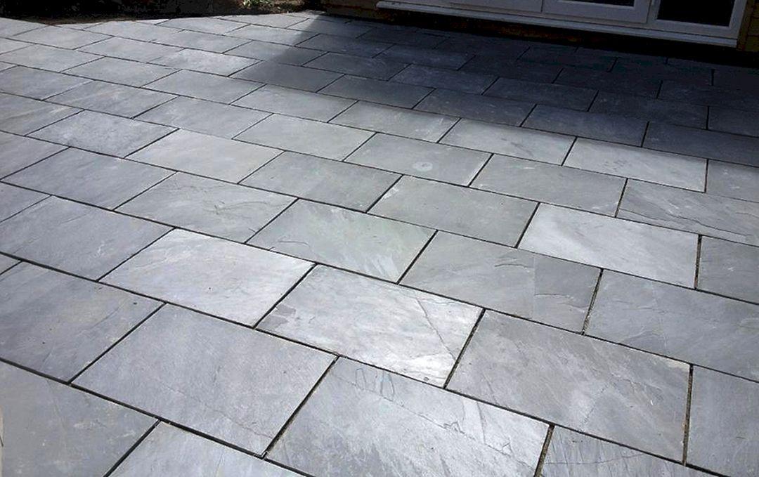 Stone Pavers Slate : Grey slate pavers design ideas and photos