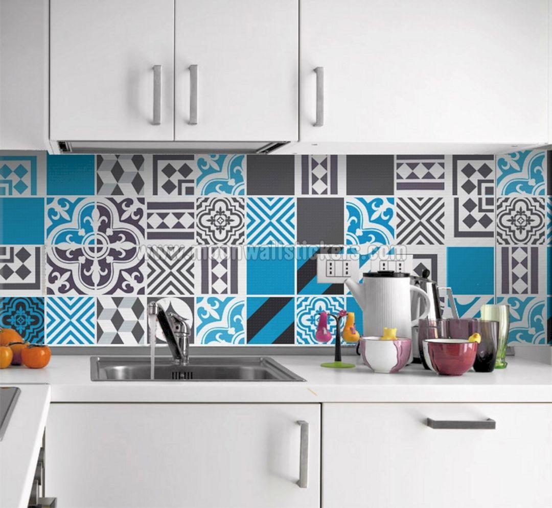 Kitchen Tile Decals Stickers Design (Kitchen Tile Decals