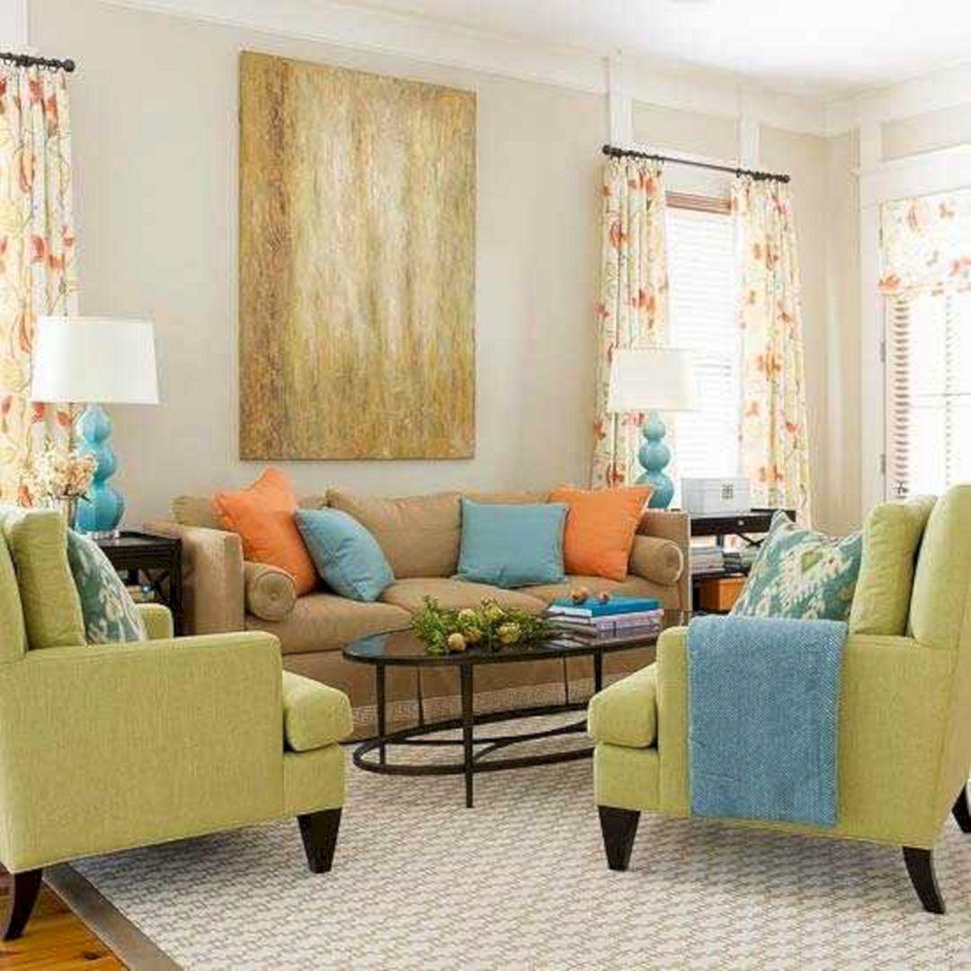 Orange And Green Living Room Ideas Orange And Green Living Room Ideas Design Ideas And Photos