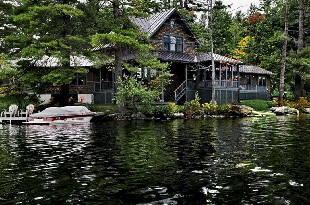 rustic lake house decorating ideas freshouz