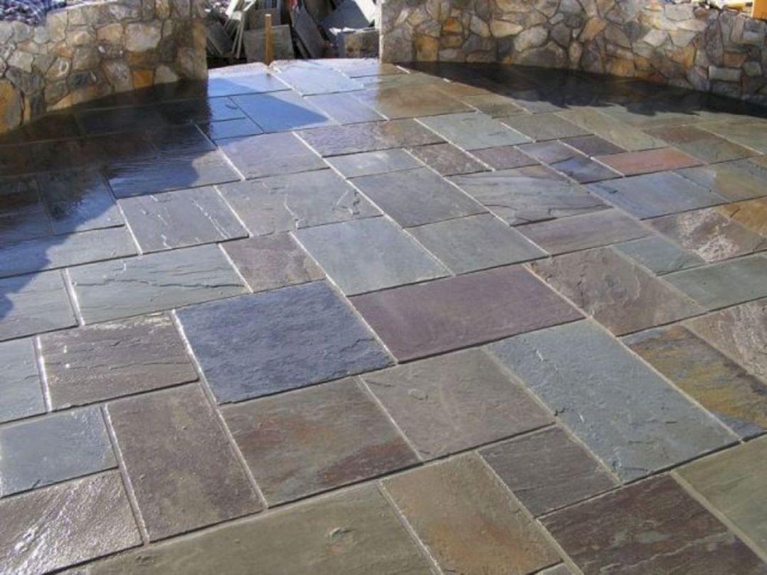Slate Stone Patio (Slate Stone Patio) design ideas and photos on Slate Patio Ideas id=93036