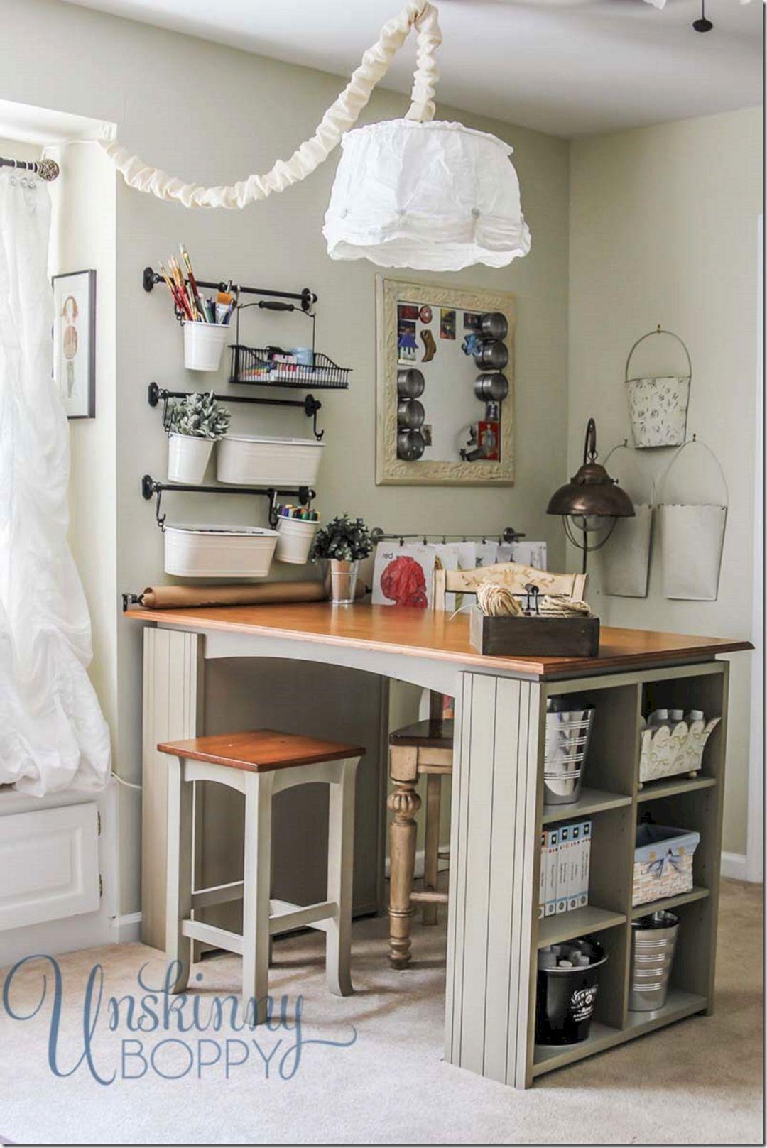 50 Incredible Craft Room Organization Ideas Freshouz