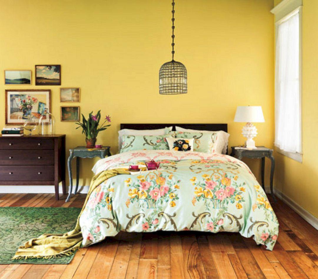 Yellow Cozy Bedroom Walls Yellow Cozy Bedroom Walls