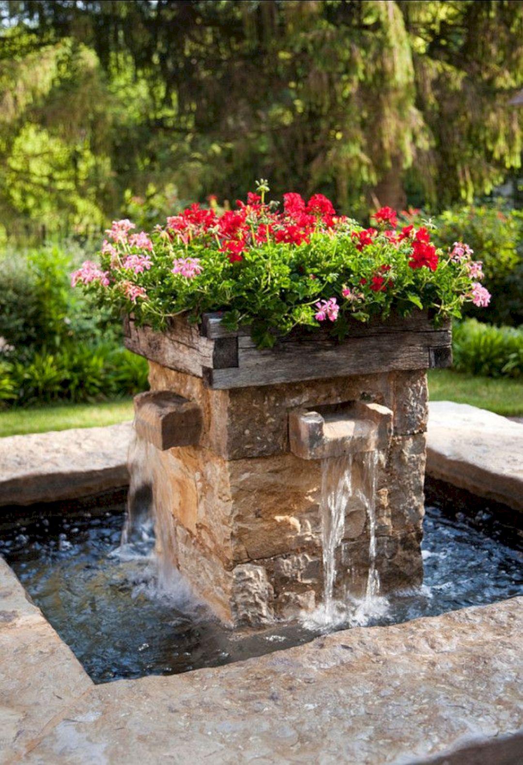 Beautiful garden fountains ideas beautiful garden - Small garden fountain ideas ...