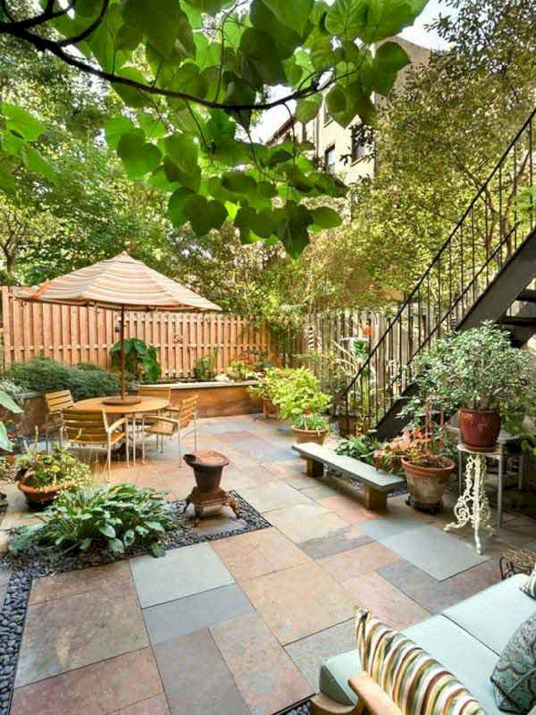 Small backyard patio landscaping ideas small backyard for Small backyard renovations