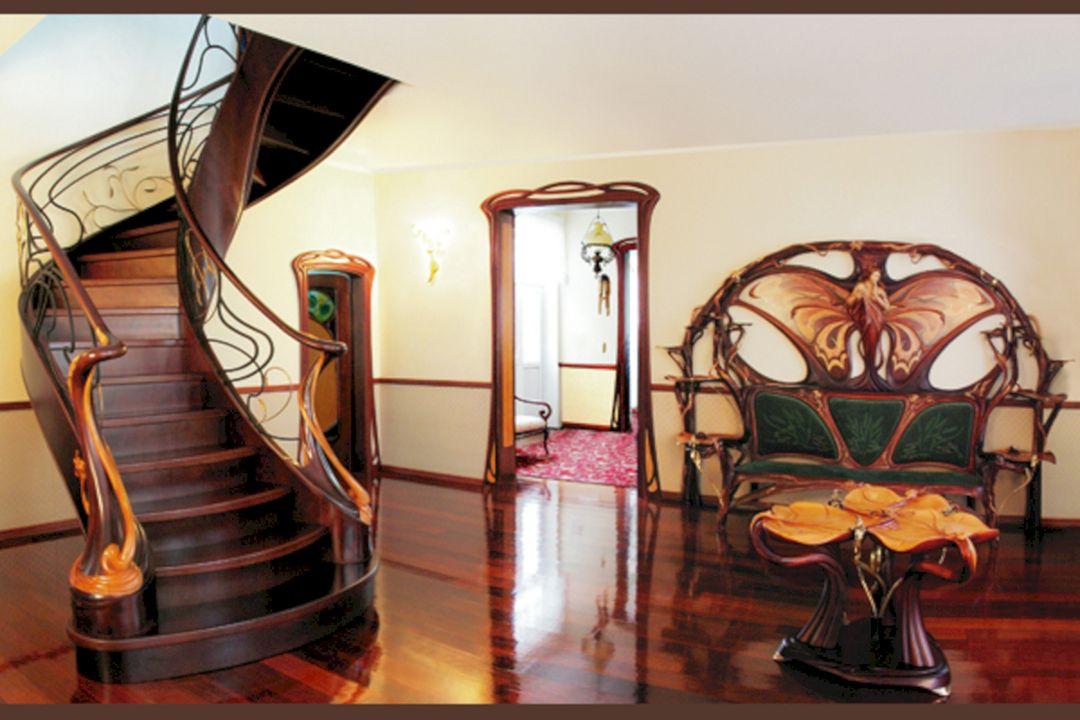 art nouveau home concept art nouveau home concept design ideas and photos. Black Bedroom Furniture Sets. Home Design Ideas