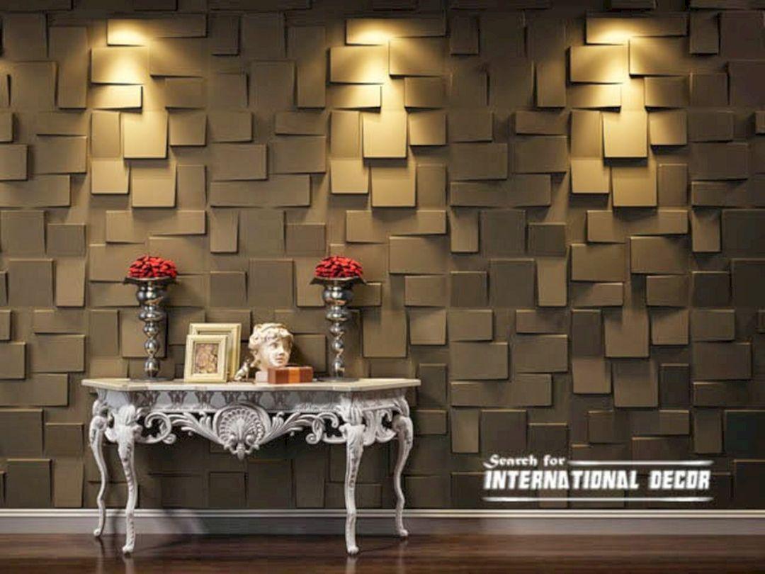 3D Decorative Wall Panels Interior 3D Decorative