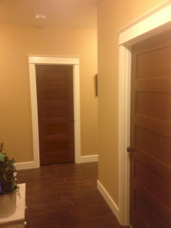 Door With Stained Trim Door With Stained Trim Design