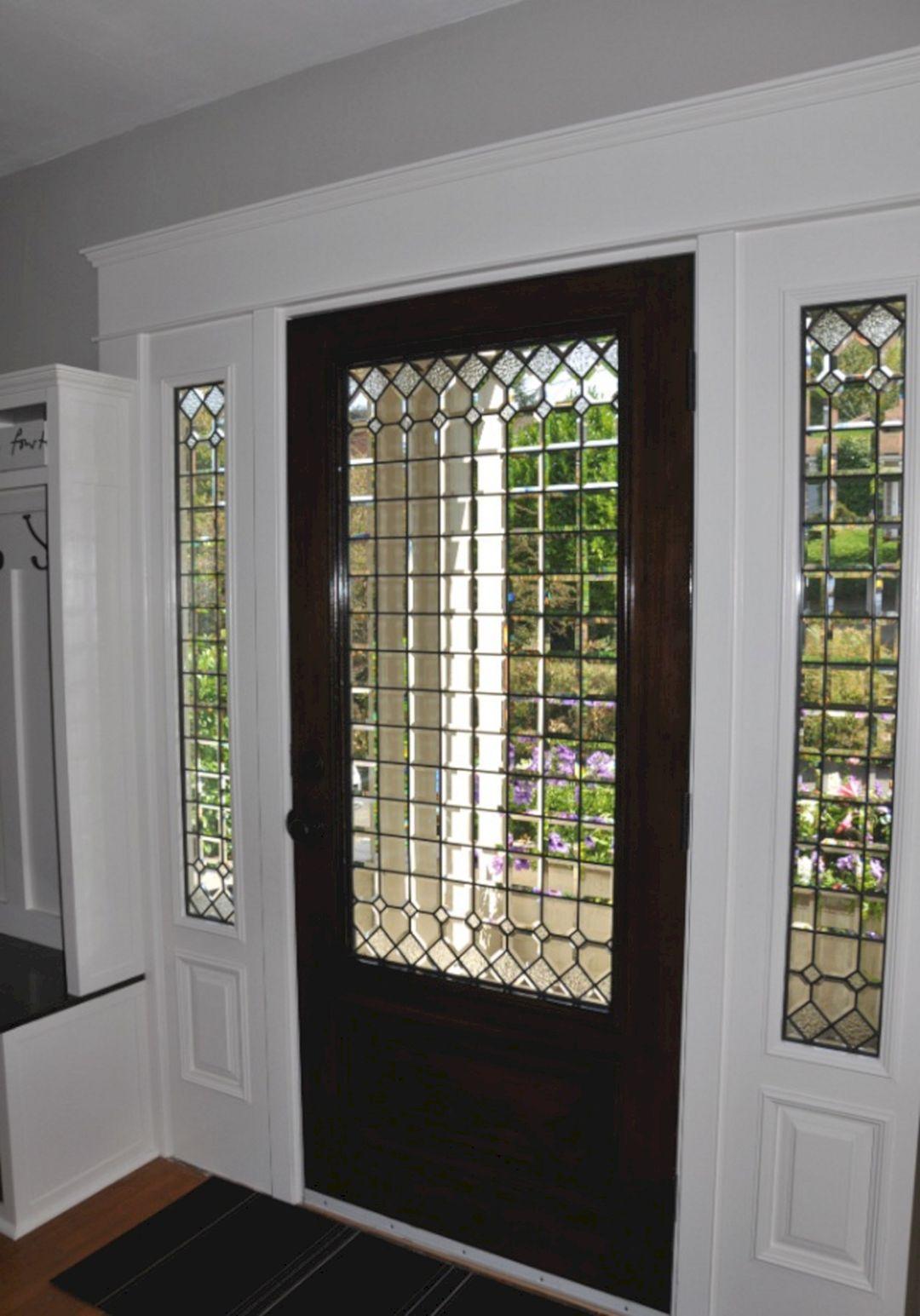 Front Door With White Trim Interior Front Door With White