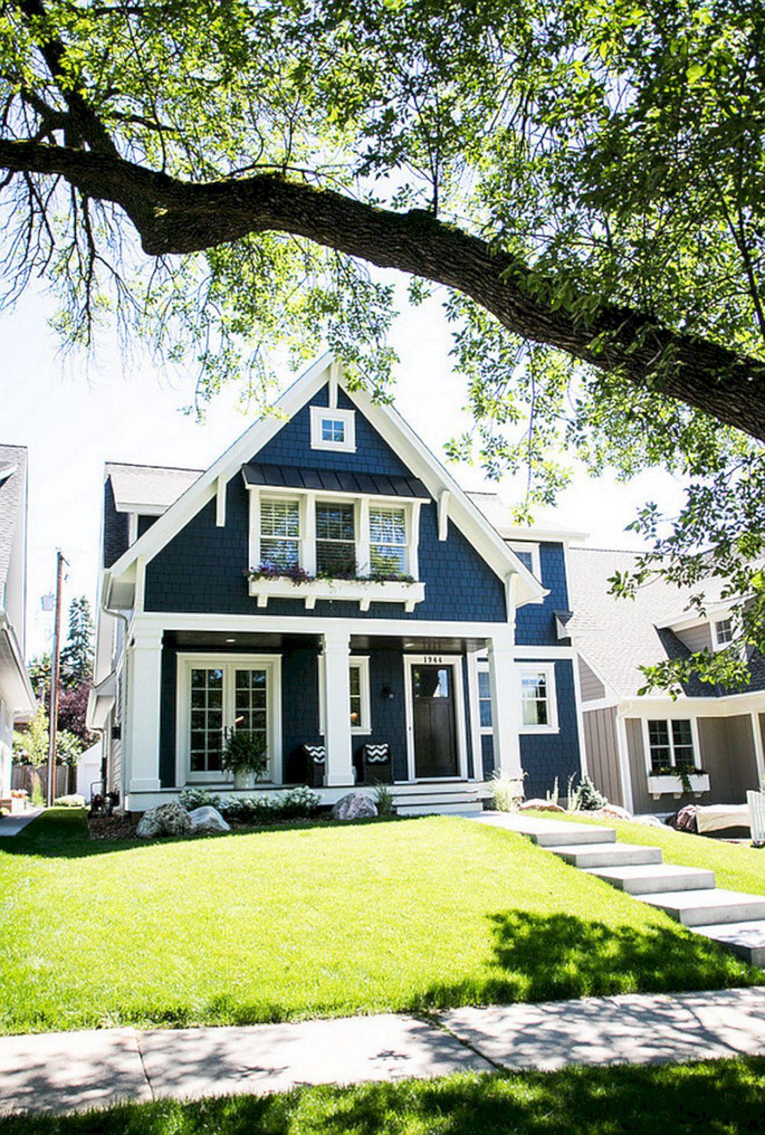 Rustic Exterior Home Paint Color Desain (Rustic Exterior ...