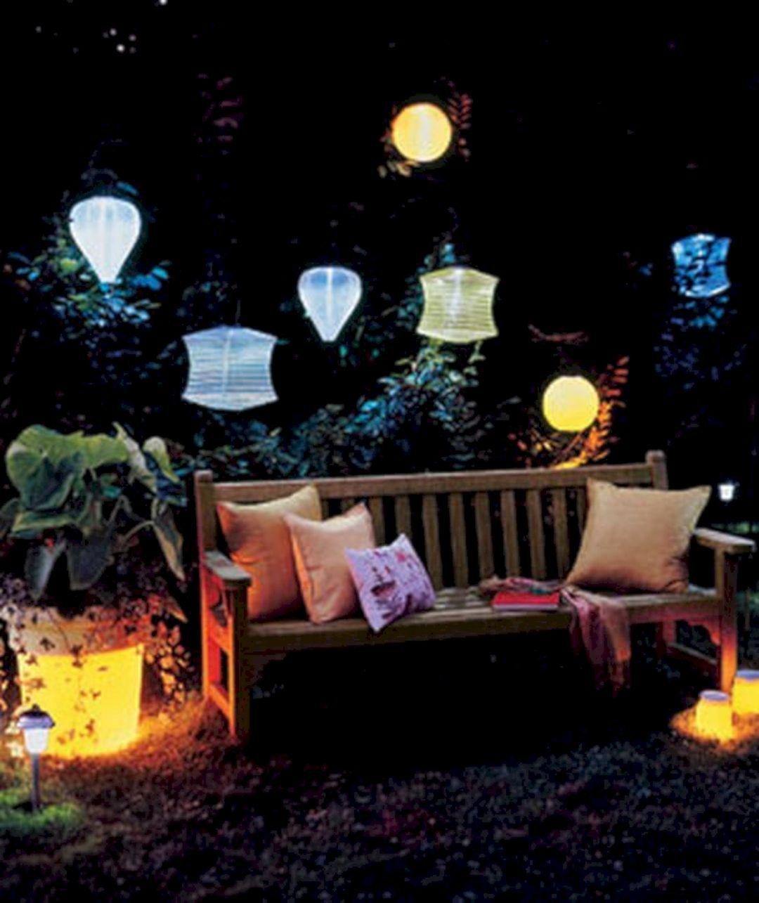 Solar back yard light ideas outdoor solar back yard light for Yard lighting options