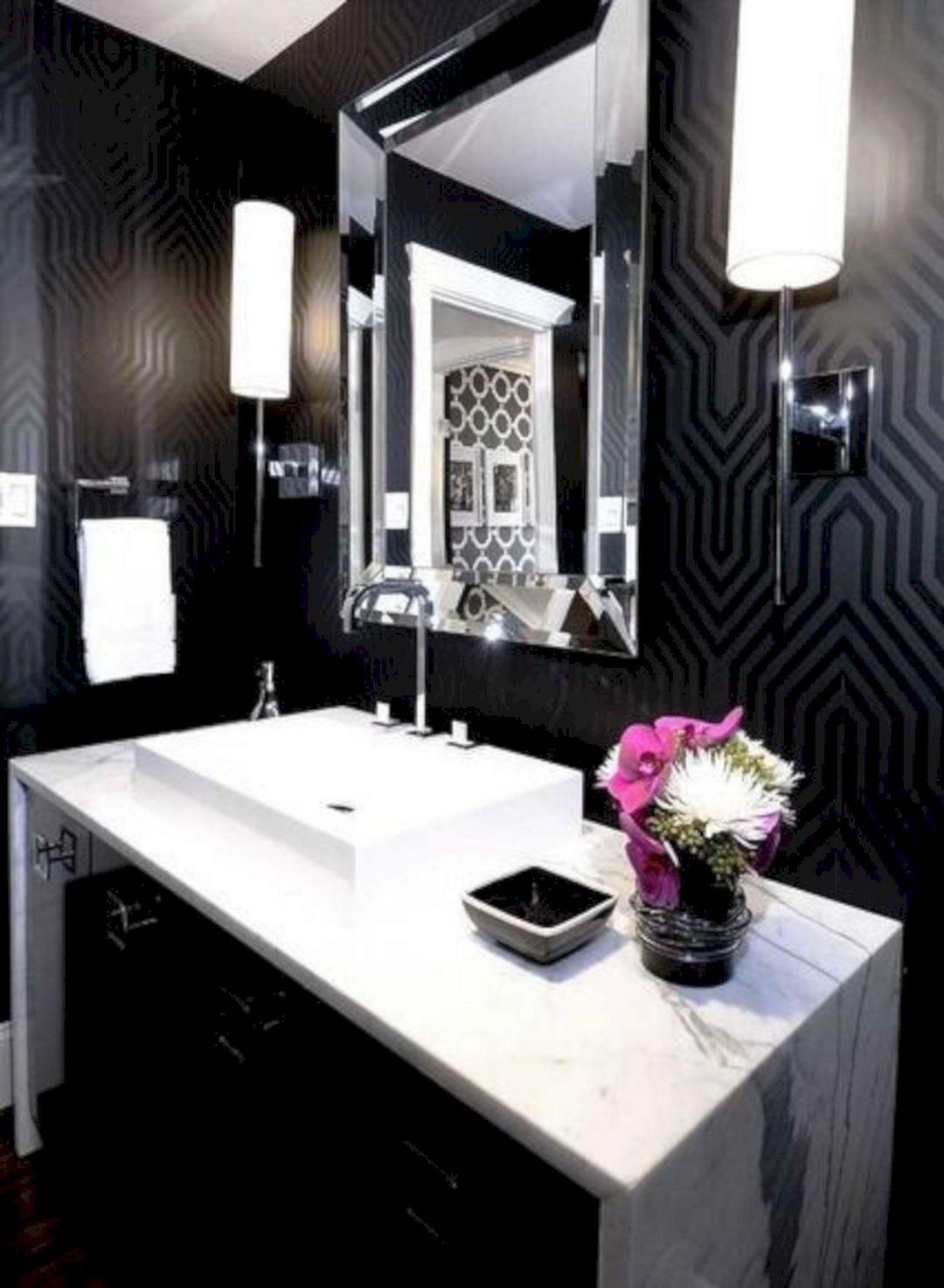 65+ Best Black Bathrooms Interior Ideas For Cool Bathroom ...
