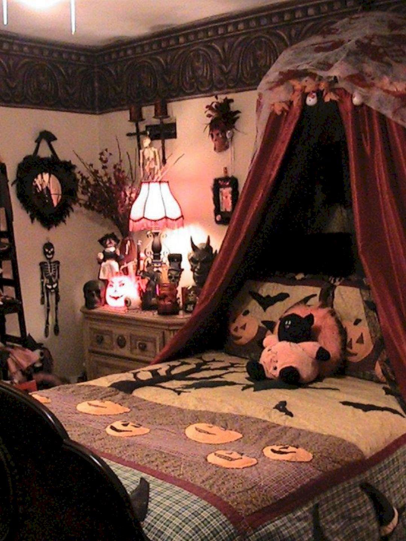 Bedroom Halloween Decorations 132