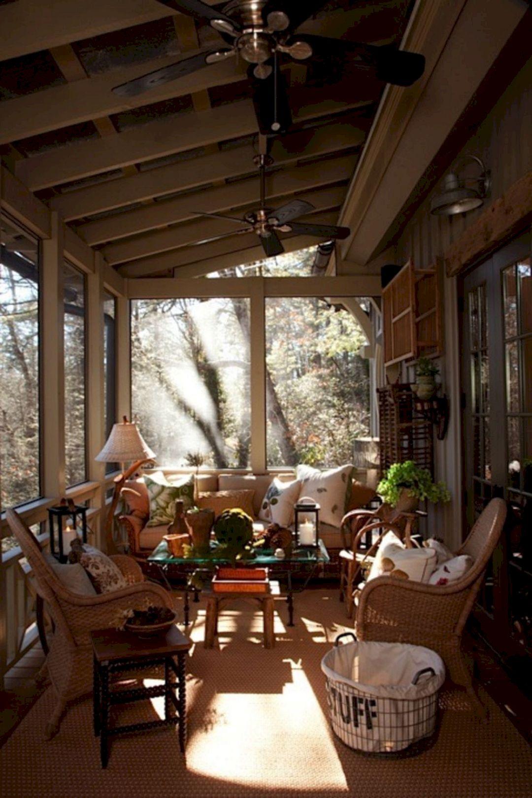 Gorgeous Farmhouse Front Porch Ideas 110 Gorgeous