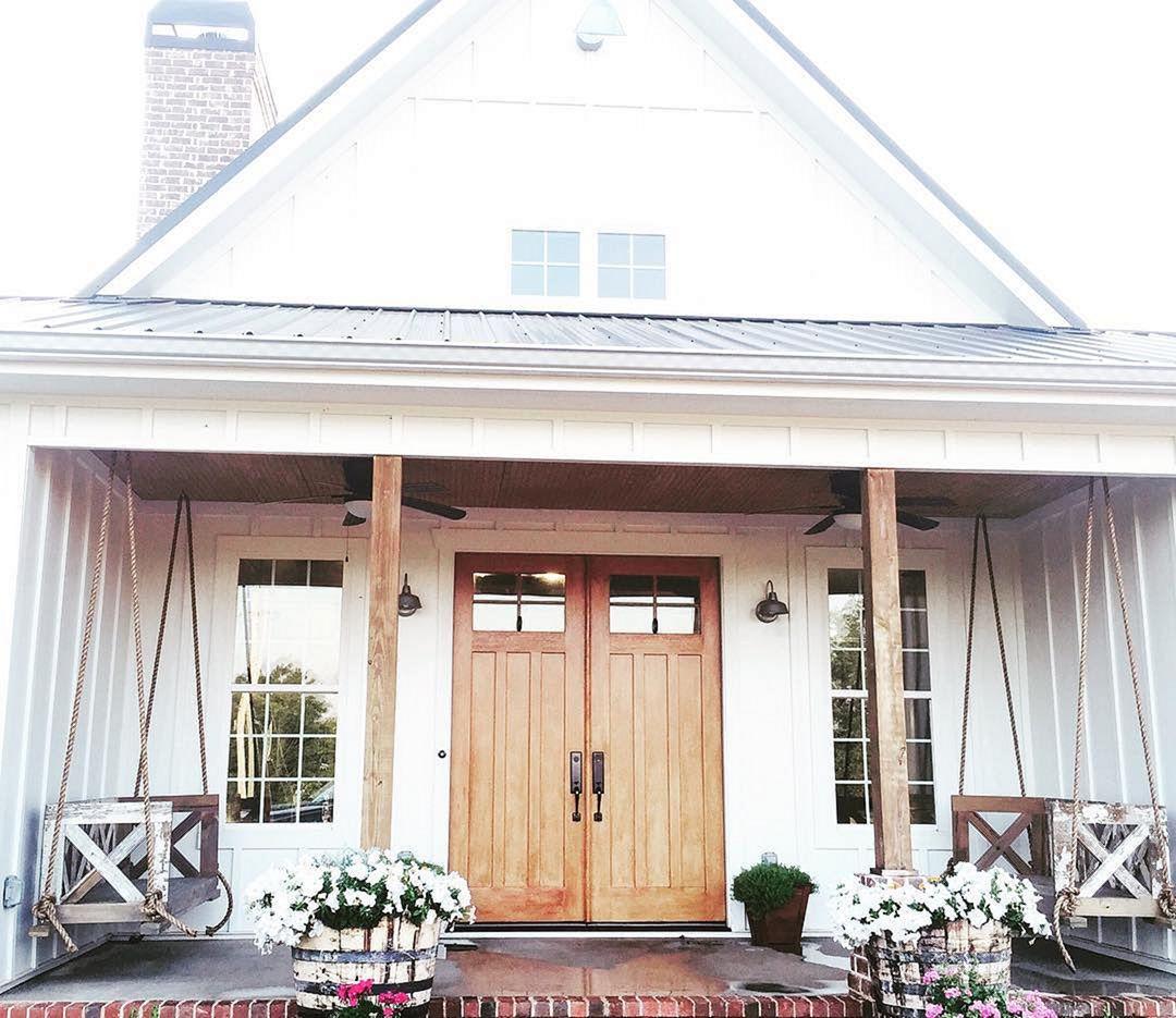 30 Gorgeous Farmhouse Front Porch Design Ideas Freshouz Com
