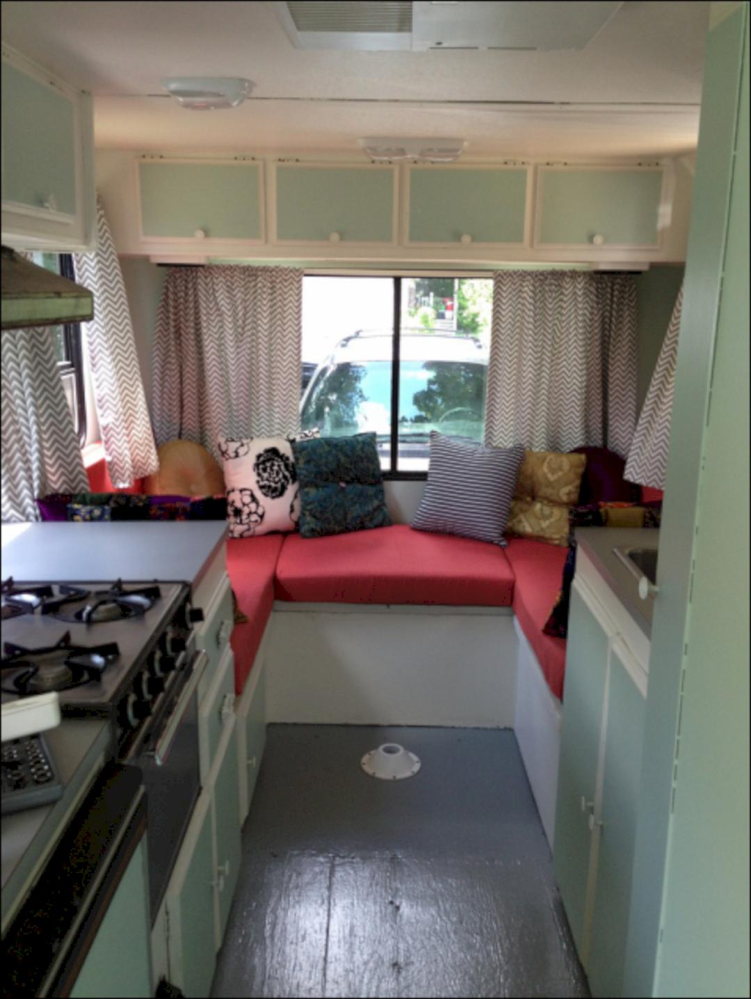 Fifth Wheel Remodel Bedroom