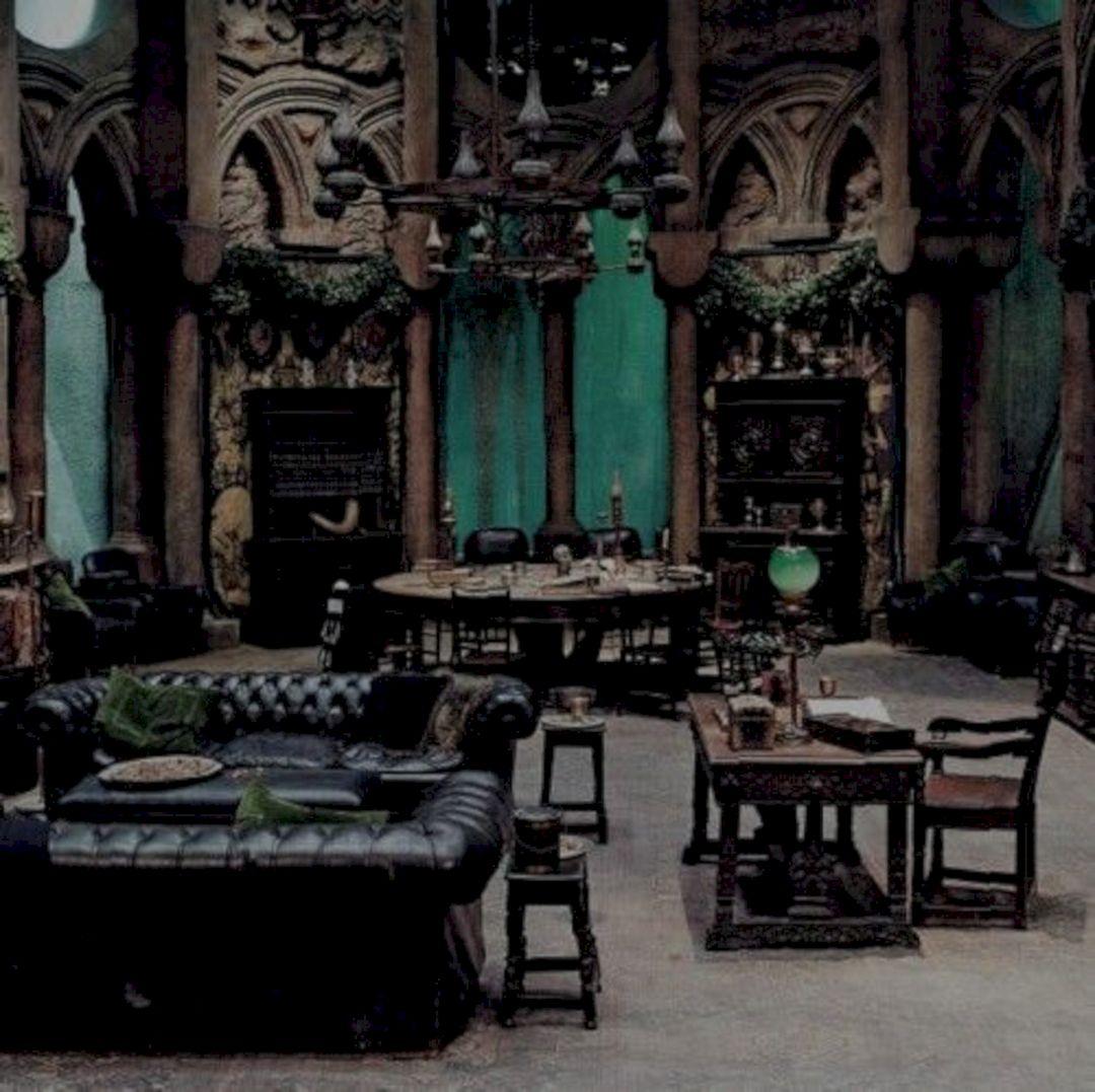 Hogwarts Slytherin Common Room (Hogwarts Slytherin Common