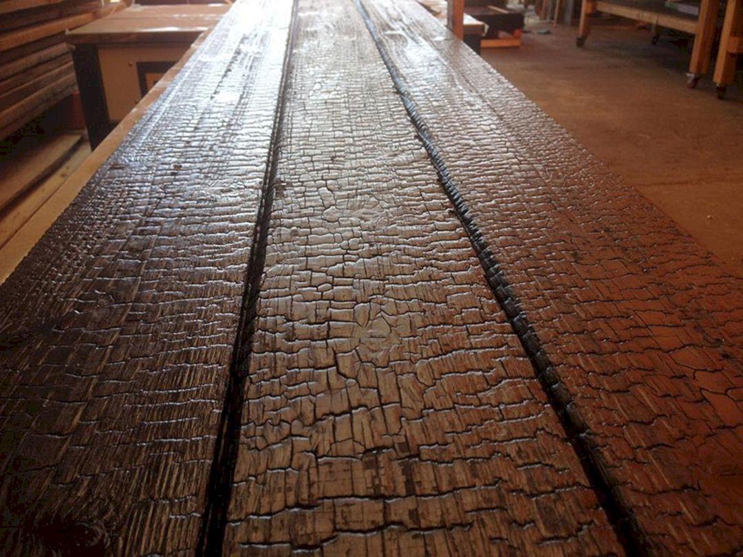 Japanese Burnt Wood Siding Japanese Burnt Wood Siding