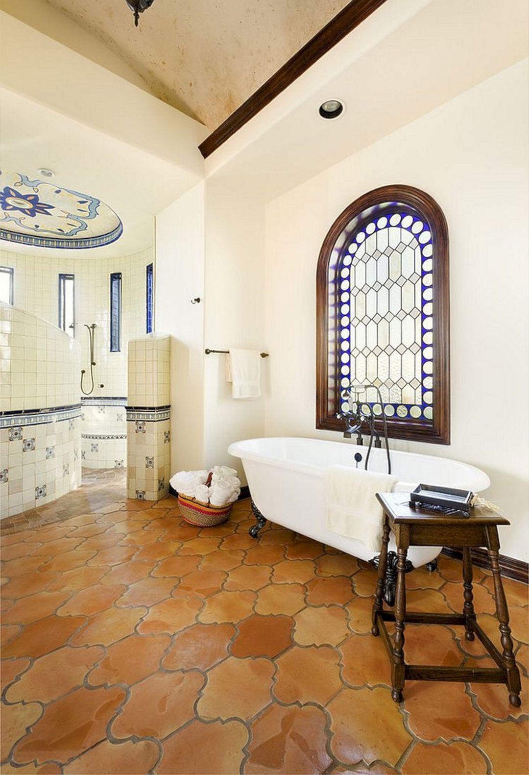 25+ Marvelous Terracotta Floor Bathroom Ideas For Best ...