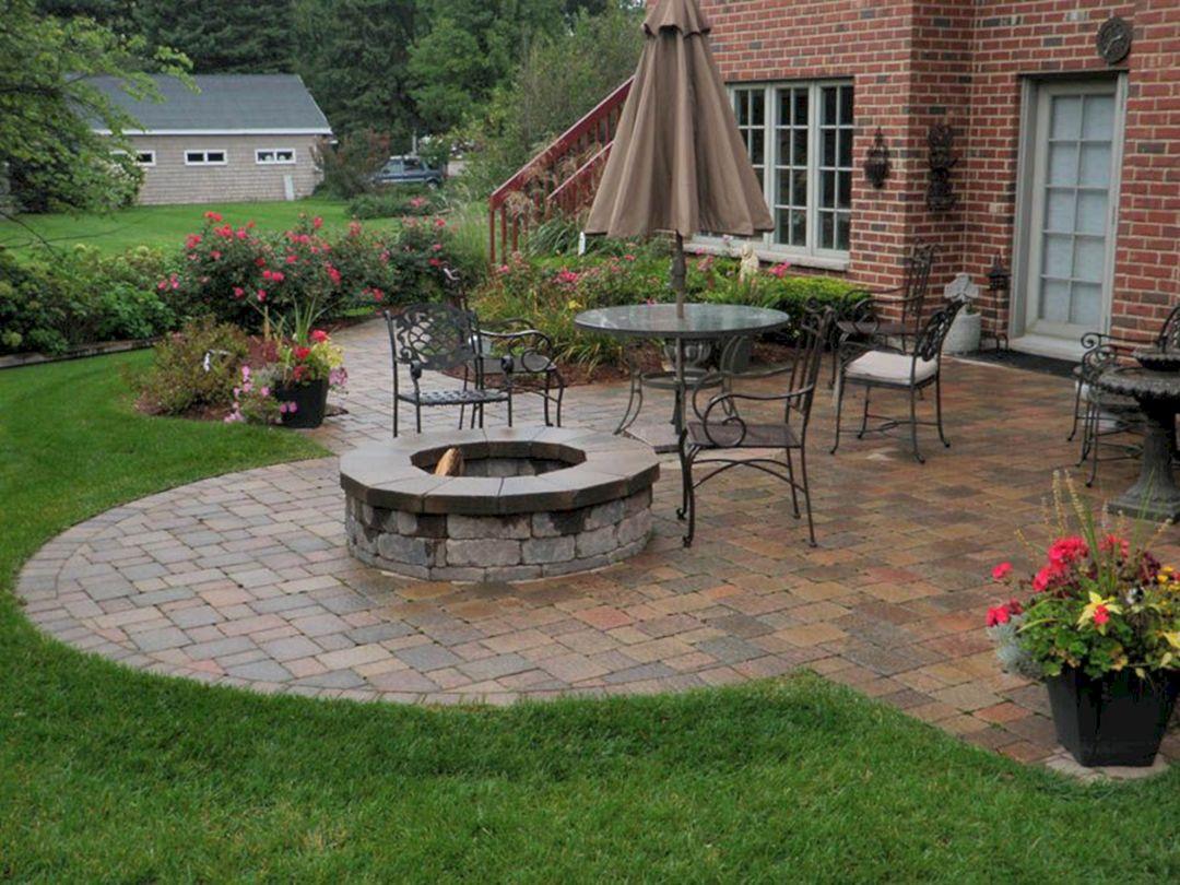 Hardscape Backyard Design Ideas 24 (Hardscape Backyard ... on Hardscape Patio id=12800