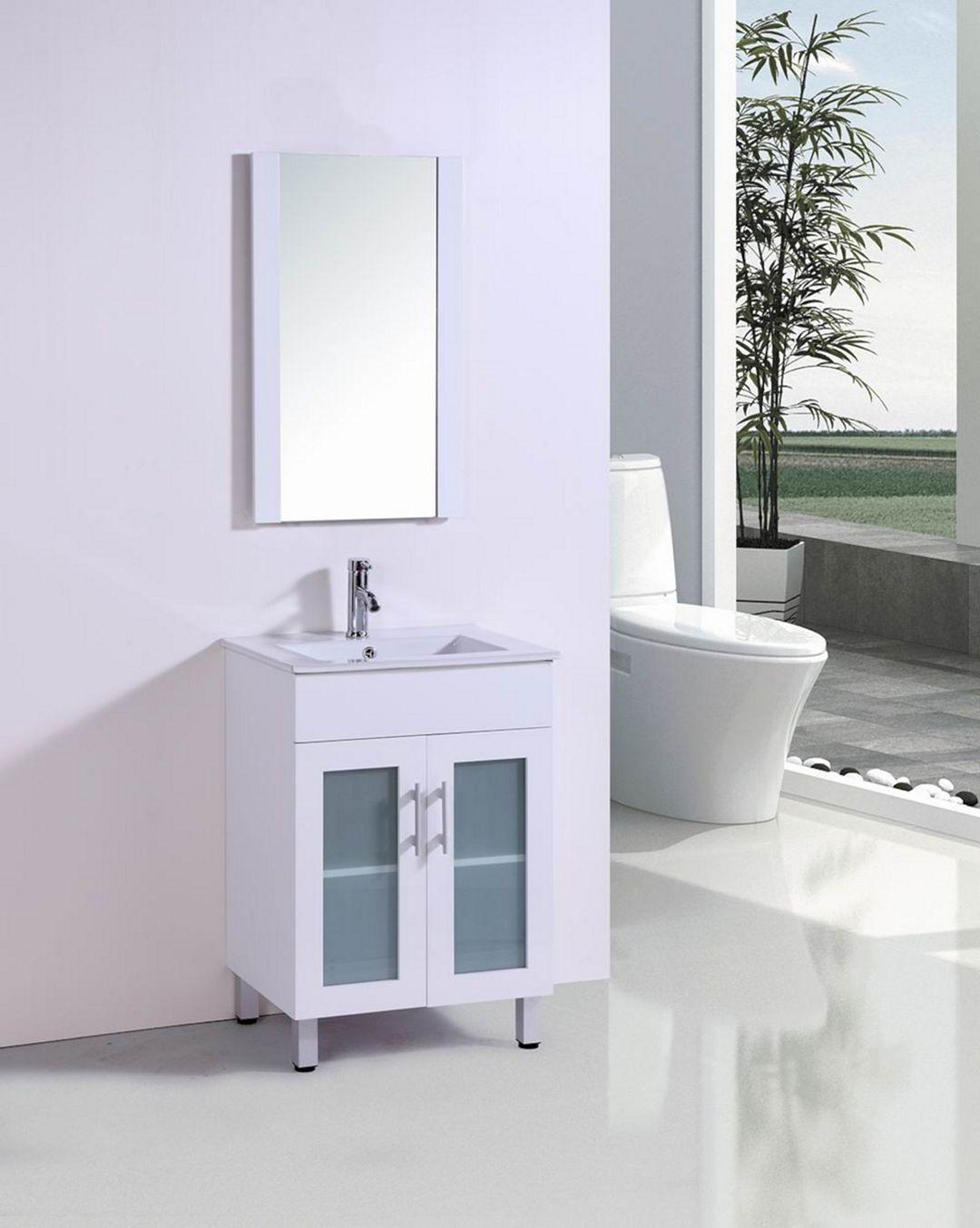 Top 20+ Minimalist Bathroom Vanity Ideas for Small ...