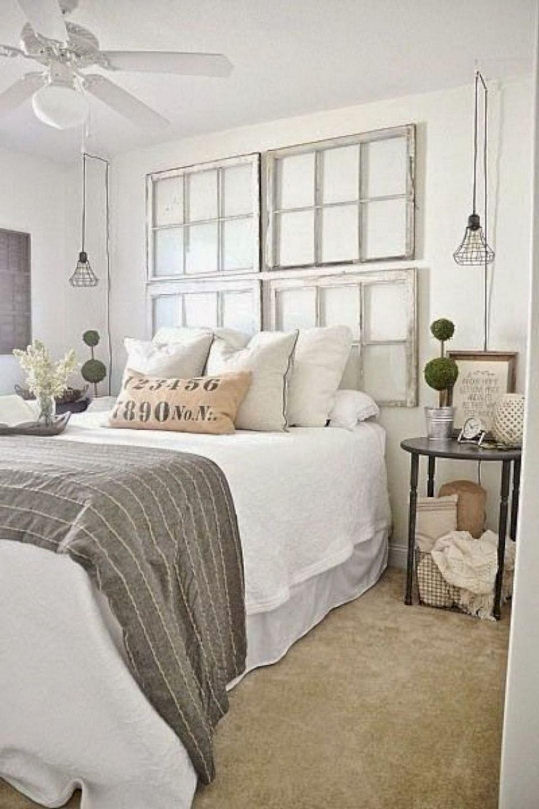 Farmhouse Master Bedroom Design 23 (Farmhouse Master ...