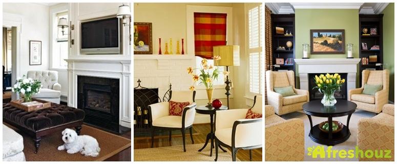 25+ Awesome Fireplace Seating Ideas For Family Room Design / FresHOUZ.com