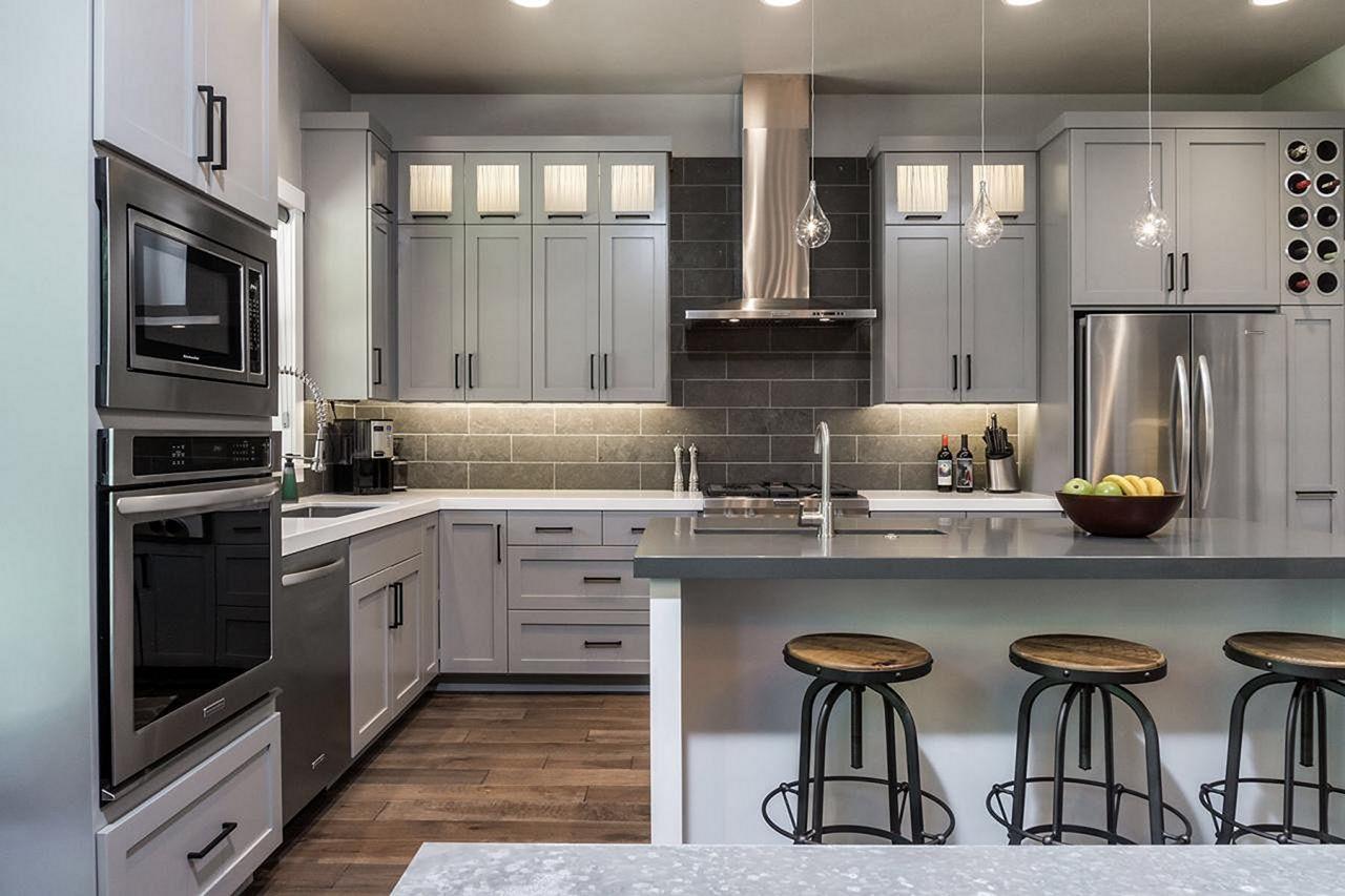 grey kitchen cabinets design 1 grey kitchen cabinets